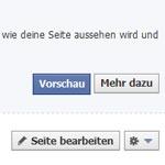 Facebook Timeline Vorschau