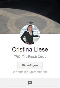 Google+ Profilbilder Picdump: Cristina Liese mit Heiligenschein