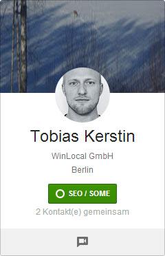 Google+ Profilbilder Picdump: Tobias Kerstin mit Bart Simpson Frisur