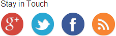 Social Media Buttons in der Sidebar