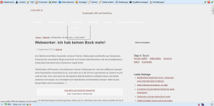 media-affin.de ohne Darstellung von Bildern
