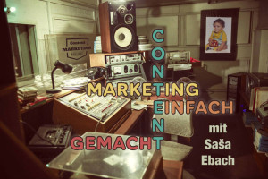 Content, Marketing, Strategie Podcast Logo