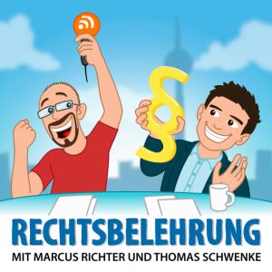 Rechtsbelehrung Podcast Logo