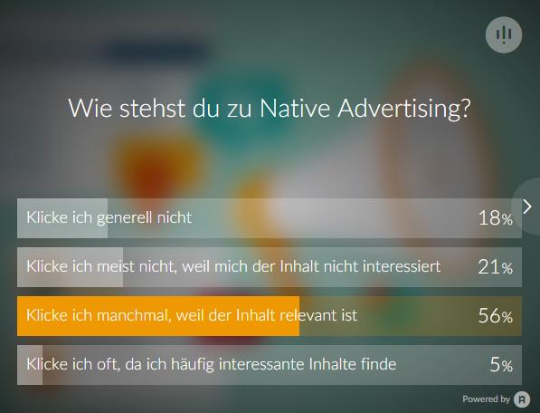 t3n-Umfrage zu Advertorials